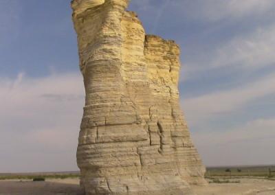 Monument Rocks, Kansas, USA by Johnna M. Gale