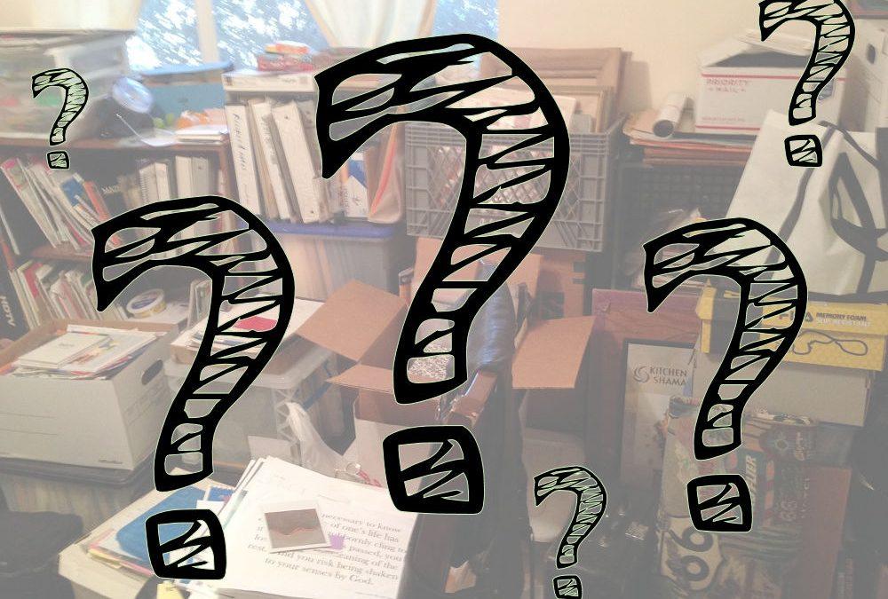 Choosing a De-cluttering Strategy
