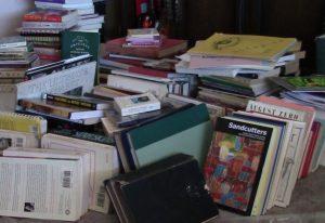 pile o books