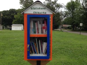 little free library - photo by Johnna M. Gale