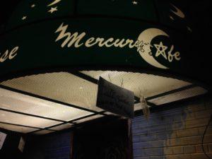 mercury cafe sign