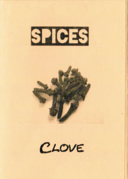 Clove the Micro Zine, A micro zine about the spice Clove, what it is, where it came from, and a recipe!