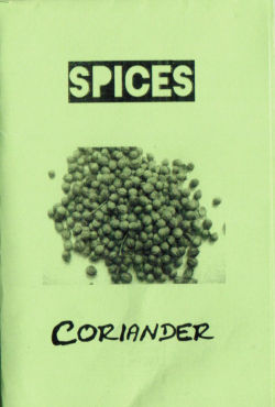 Coriander the Micro Zine