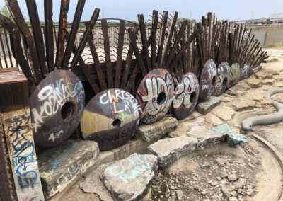 The Sculpture/Graffiti Park