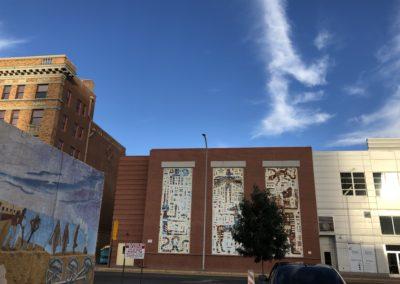 Triptic mural Albuquerque, NM