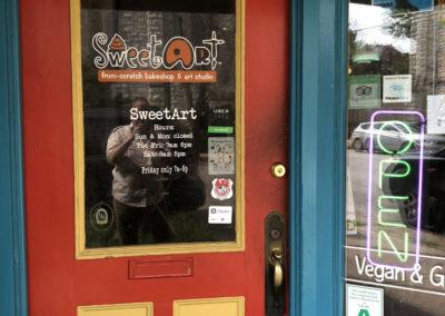 SweetArt Doorway