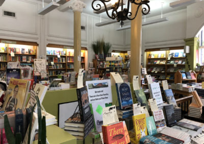 Interior of Left Bank Books