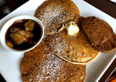 Pancakes at Treehouse Restaurant