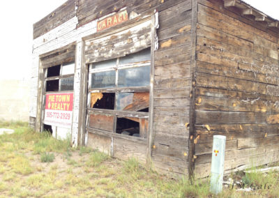 Ruined building, exterior, Pie Town, NM