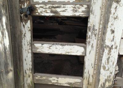 Door, exterior, Pie Town, NM