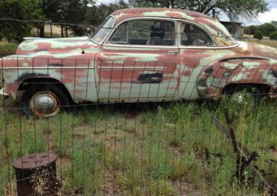 Old Car, Pie Town, NM